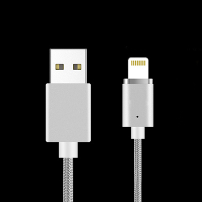Lightning Magnetic USB Charging and Date Sync Cable Nylon