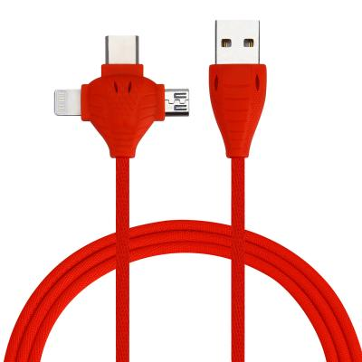 3 In 1 High Quality Usb Cable For Iphone Micro Cable For Android And Type-c Cable 02
