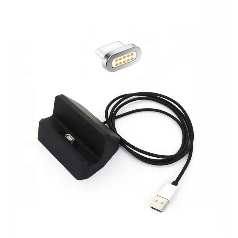 YL-P10-MLT New Product 3 In 1 Magnetic Charging With Stand Holder Data USB Cable For Mobilephone 0
